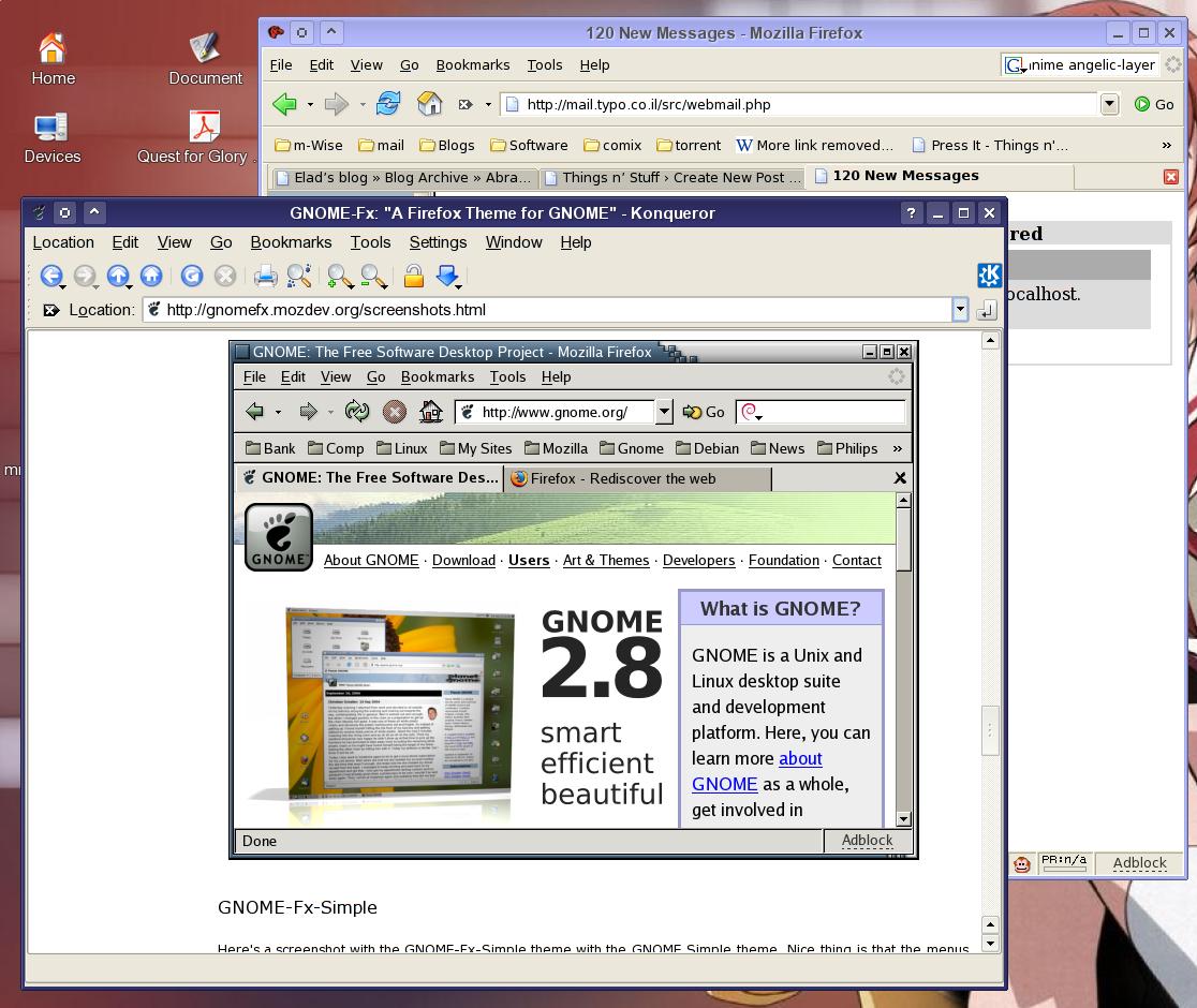 GNOME Firefox ?