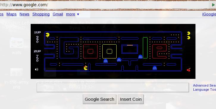 Google's PacMan Doodle